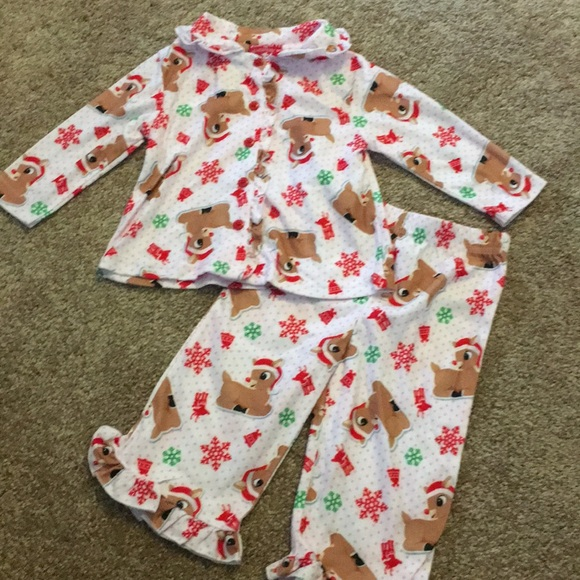 Rudolph the Red-Nosed Reindeer Pajamas  89a395765